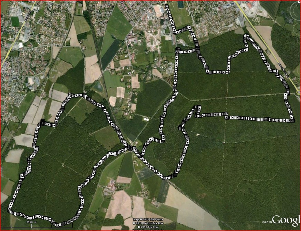 circuit seillonnaise - trail 2012 - 17 km